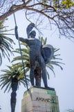 Achilleions-Statue in Korfu, Griechenland Stockbild