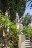 Achilleions-Statue in Korfu, Griechenland Stockbilder