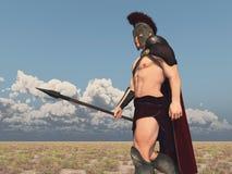 Achilles, Grecki bohater Trojańska wojna, iść zwalczać przeciw Troja ilustracji