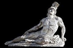 Achilles standbeeld Stock Afbeeldingen
