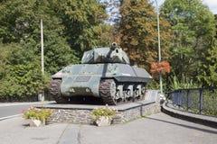 Achilles Tank Destroyer Mk 10 bij La roche-Engels-Ardenne Stock Foto's
