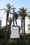 Achilleus-Statue - Achilleions-Palast, Korfu, Griechenland Stockfotografie