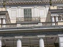 Achillieon-Palast auf der Insel von Korfu Griechenland errichtet von der Kaiserin Elizabeth von Österreich Sissi Lizenzfreies Stockfoto