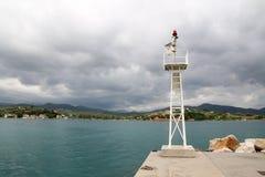 Achillio hamn Arkivbild