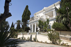 Achillion palace in Corfu Royalty Free Stock Image