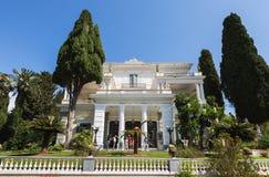 Achillion palace Stock Photo