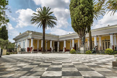 Achillion palace Royalty Free Stock Photos