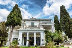 Achillion palace Royalty Free Stock Photo