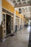 Achillion Palaststatuen, Korfu Lizenzfreies Stockbild