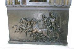 Achillion slott Korfu Royaltyfria Foton