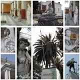 achillioncorfu greece slott Fotografering för Bildbyråer