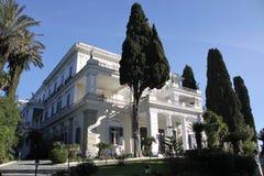 Achillions-Palast auf der Insel von Korfu Lizenzfreies Stockbild