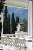 Achillions-Palast auf der Insel von Korfu Lizenzfreie Stockfotografie