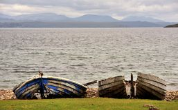 Achiltibuie shore line, Coigach, Highlands Stock Image