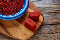 Achiote seasoning annatto seed Mexico popular Royalty Free Stock Photography