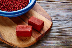 Achiote seasoning annatto seed Mexico popular Stock Images