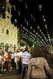 Achiropita - italienisches Festival (Kermesse) - Brasilien Lizenzfreies Stockbild