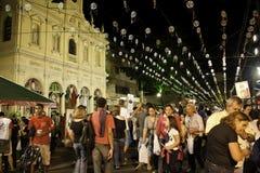 Achiropita - italiensk festival (Kermesse) - Brasilien Royaltyfria Bilder