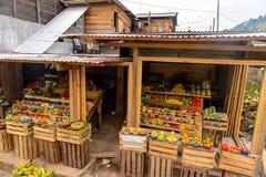 Achitecture of the Chiapas state, Mexico. CHIAPAS, MEXICO - NOV 2, 2016: Nature and archtecture of One of the maya villages in Chiapas state of Mexico. Here live royalty free stock photos