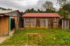 Achitecture de l'état de Chiapas, Mexique image libre de droits