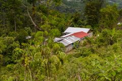 Achitecture de l'état de Chiapas, Mexique images stock