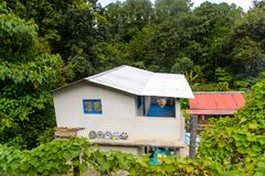Achitecture de l'état de Chiapas, Mexique image stock