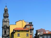Achitecture de Tradicional de Porto, Portugal images libres de droits