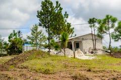 Achitecture des Chiapas-Staates, Mexiko Stockfotografie