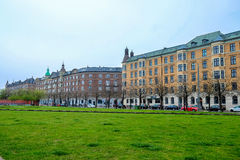 Achitecture-Gebäude in Kopenhagen Stockbilder