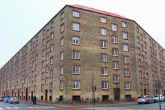 Achitecture-Gebäude in Kopenhagen Stockfotografie