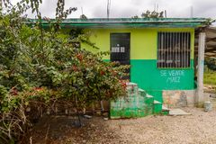 Achitecture van de Chiapas-staat, Mexico stock fotografie