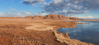 Achitnoor lake in the Mongolian Royalty Free Stock Images