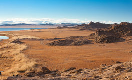 Achitnoor lake in the Mongolian Stock Photos