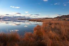 Achitnoor See auf den Mongolian Stockfotografie