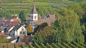 Achkarren,Kaiserstuhl,black forest,germany Royalty Free Stock Photography