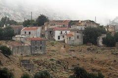 Achlada-Bergdorf, Kreta-Insel, Griechenland Stockbild
