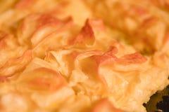 Achma, tarte avec du fromage photographie stock