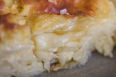 Achma, Torte mit Käse, Lasagne mit Käse, khachapuri Lizenzfreies Stockfoto