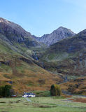 Achnambeithach, Glencoe, średniogórza Szkocja Zdjęcia Royalty Free
