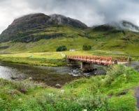 Achnambeithach in Scotland Stock Image
