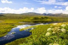 Achnasheen Skottland Royaltyfria Foton