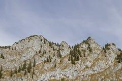 Achselköpfe in Benediktenwand-Bereich Stockbild