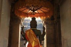 Acht bewaffneter Buddha Stockfoto