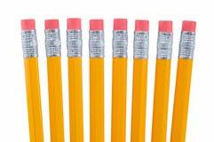 Acht Bleistifte Stockbilder