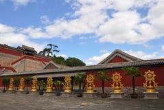 Acht Buitentempels van Chengde stock afbeeldingen