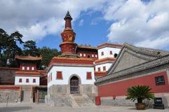Acht Buitentempels van Chengde royalty-vrije stock afbeeldingen