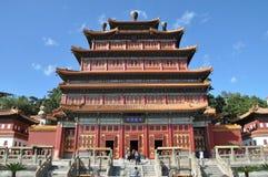 Acht Buitentempels van Chengde stock foto's