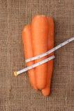 Acht der Karotte. Lizenzfreies Stockfoto