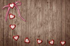 Acht Herzen Stockfotos