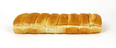 Acht Hotdog Rolls Stockfotografie